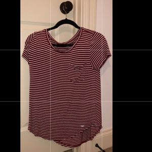 Hollister Maroon shirt